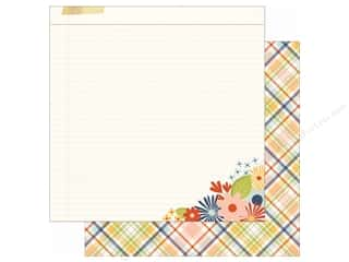 Simple Stories: Simple Stories 12 x 12 in. Paper Bloom & Grow Bee Happy (25 sheets)