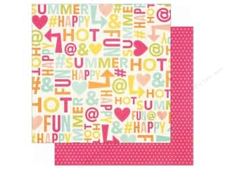 Simple Stories 12 x 12 in. Paper Sunshine & Happiness Summer (25 sheets)