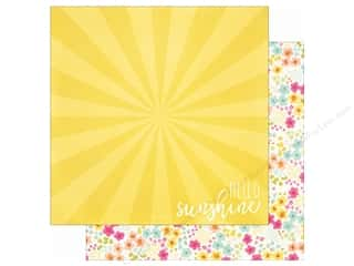 Simple Stories: Simple Stories 12 x 12 in. Paper Sunshine & Happiness Shine Bright (25 sheets)