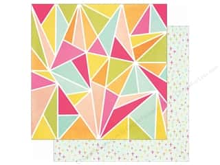 Simple Stories: Simple Stories 12 x 12 in. Paper Sunshine & Happiness High Five (25 sheets)