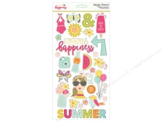 Simple Stories: Simple Stories Adhesive Chipboard Sunshine & Happiness