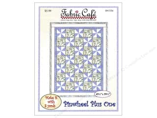 Clearance: Fabric Cafe Pinwheel Plus One Pattern