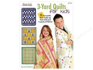 books & patterns: Fabric Cafe 3-Yard Quilts For Kids Book