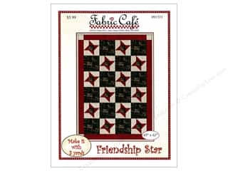 Clearance: Fabric Cafe Friendship Star Pattern