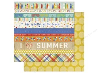 Carta Bella 12 x 12 in. Paper Beach Day Border Strips (25 sheets)