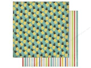 Carta Bella 12 x 12 in. Paper Beach Day Pineapple Paradise Picture