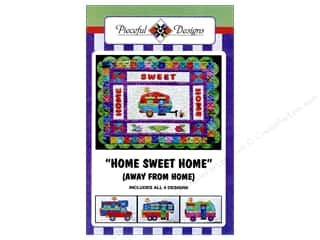 books & patterns: Pieceful Designs Home Sweet Home (Away From Home) Pattern