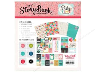 die cuts: Echo Park Collection Party Time Pocket Page Kit