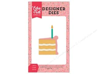 Echo Park Designer Dies Party Time Cake & Candle