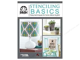 books & patterns: Leisure Arts Stenciling Basics Book