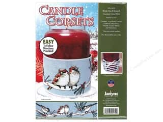 Clearance: Janlynn Cross Stitch Kit Candle Corset Birds On A Branch