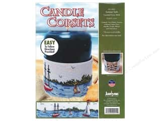 ribbon: Janlynn Cross Stitch Kit Candle Corset Summer Sails