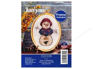 yarn & needlework: Janlynn Cross Stitch Kit Ornament Snowlady