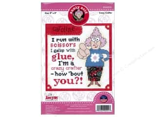stamps: Janlynn Cross Stitch Kit Aunty Acid Crazy Crafter