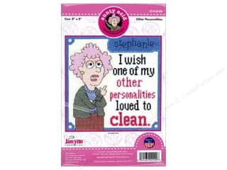 yarn & needlework: Janlynn Cross Stitch Kit Aunty Acid Other Personalities