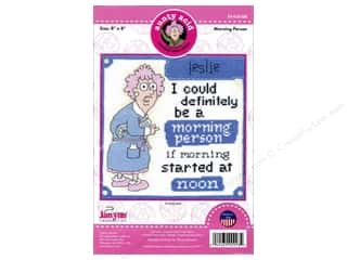 yarn & needlework: Janlynn Cross Stitch Kit Aunty Acid Morning Person