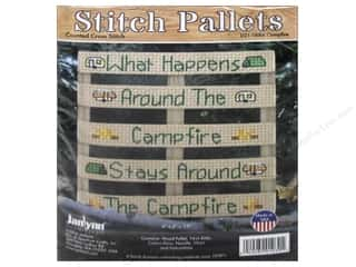 yarn & needlework: Janlynn Cross Stitch Kit Stitch Pallets Campfire