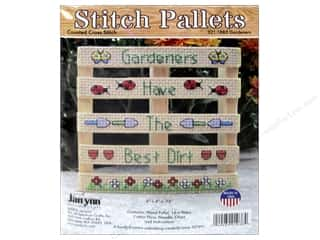 yarn & needlework: Janlynn Cross Stitch Kit Stitch Pallets Gardeners