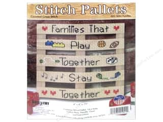 Clearance: Janlynn Cross Stitch Kit Stitch Pallets Families
