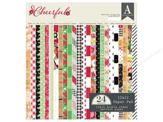 Authentique 12 x 12 in. Paper Pad Cheerful