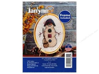 stamps: Janlynn Cross Stitch Kit Ornament Bashful Snowman