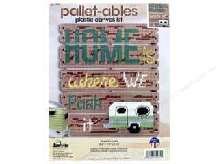 Janlynn Plastic Canvas Kit Pallet-ables Where We Park It