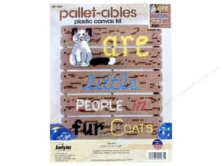plastic canvas: Janlynn Plastic Canvas Kit Pallet-ables Cats Are