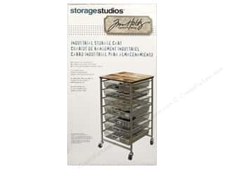 Storage Studios Tim Holtz Signature Design Industrial Storage Cart