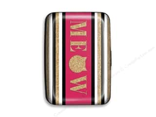Lady Jayne Credit Card Case Meow Stripes