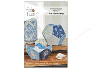 craft & hobbies: Indygo Junction Fabri Flair Kit Large Brio Sphere Pattern