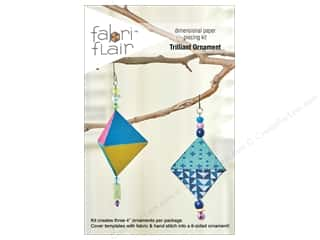 craft & hobbies: Indygo Junction Fabri Flair Kit Trilliant Ornament Pattern