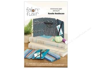 craft & hobbies: Indygo Junction Fabri Flair Kit Navette Needlecase Pattern
