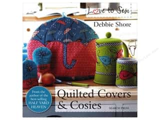 books & patterns: Search Press Quilted Covers & Cosies Book