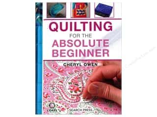 books & patterns: Quilting For The Absolute Beginner Book by Cheryl Owen