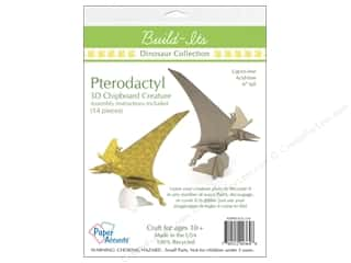 """chipboard 6x6: Paper Accents Build Its Chip Pterodactyl 6"""" Tall"""