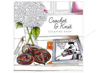 books & patterns: Paper Accents Creative Coloring Coloring Book Crochet & Knit
