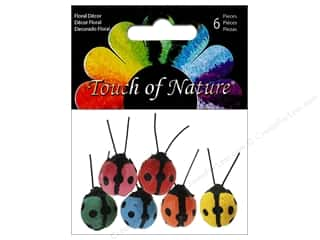 floral & garden: Midwest Design Ladybug 3/4 in. Assortment 6 pc.
