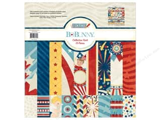 Bo Bunny 12 x 12 in. Collection Pack Firecracker
