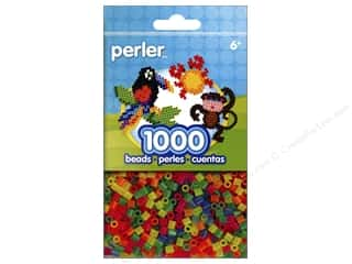 beading & jewelry making supplies: Perler Beads 1000 pc. Neon Mix