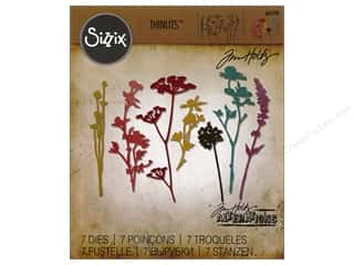Sizzix Tim Holtz Thinlits Die Set 7 pc. Wildflowers