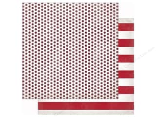 patterned paper: Authentique 12 x 12 in. Paper Cheerful Seven (25 sheets)