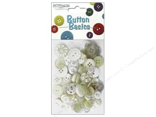 scrapbooking & paper crafts: Buttons Galore Button Candy Bags 3 oz. White