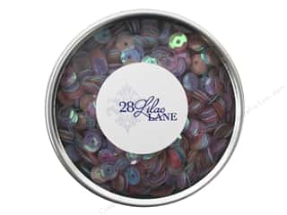 beading & jewelry making supplies: Buttons Galore 28 Lilac Lane Sequin Tin Pastels