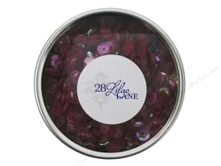 beading & jewelry making supplies: Buttons Galore 28 Lilac Lane Sequin Tin Reds