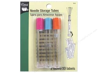 storage : Dritz Needle Storage Tubes 3 pc.