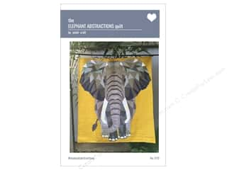 Violet Craft The Elephant Abstractions Quilt Pattern