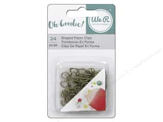 scrapbooking & paper crafts: We R Memory Keepers Oh Goodie Shaped Paper Clips