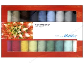 twine: Mettler Metrosene All Purpose Thread Gift Set 18 pc.