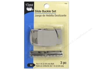 Dritz Slide Buckle Set Nickel