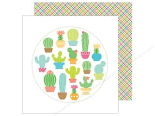 Doodlebug 12 x 12 in. Paper Fun In The Sun Paradise Plaid (25 sheets)